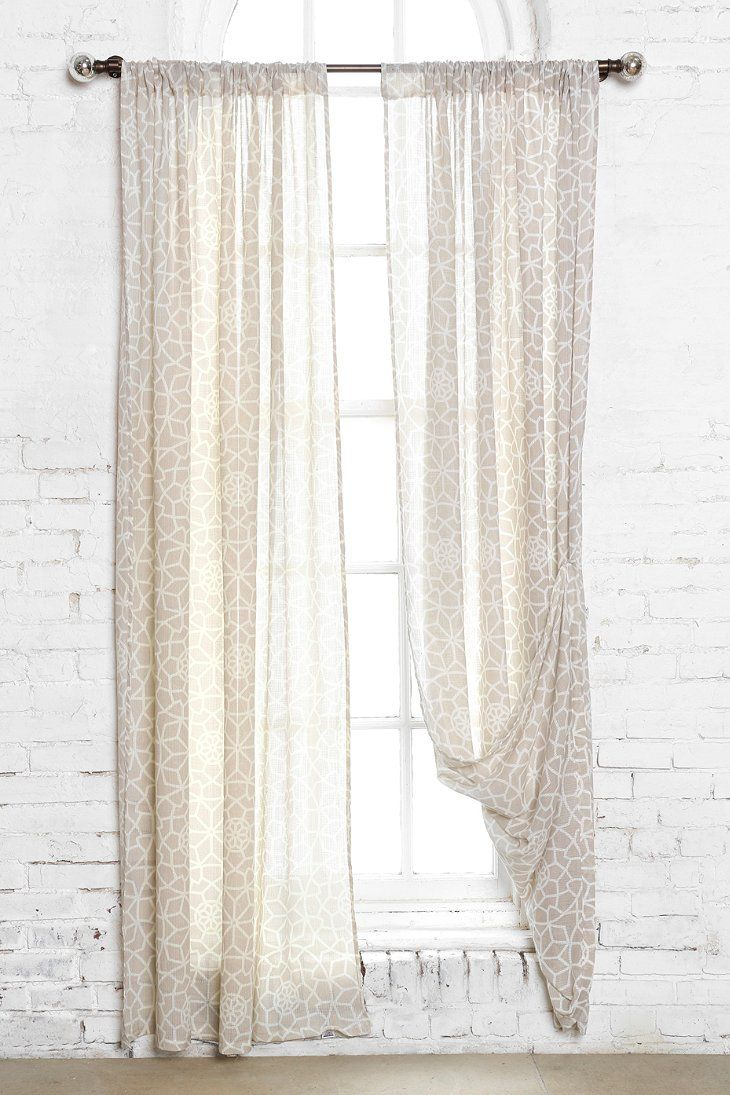 Magical Thinking Star Tile Curtain Urban Outfitters Stars And Tile