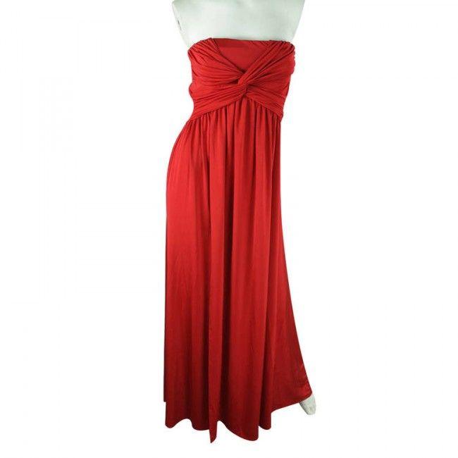 Vestido Asos 38 Rojo - Ropa Mujer - Sensacional
