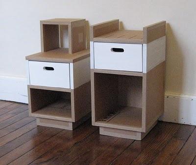 les 63 meilleures images propos de inspiration meubles en carton sur pinterest livres. Black Bedroom Furniture Sets. Home Design Ideas