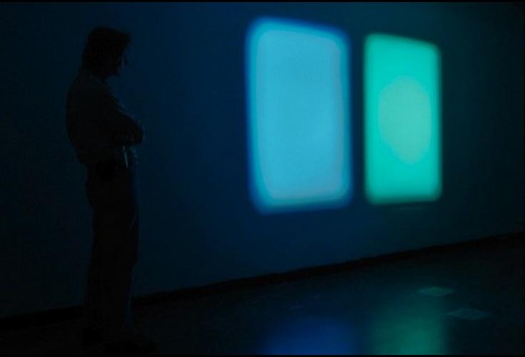 Morgan Bentham, Conversation With Color, 2009. Slide Projection.