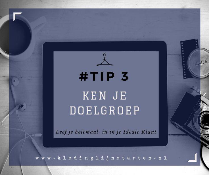 Tip 3 Ken je doelgroep