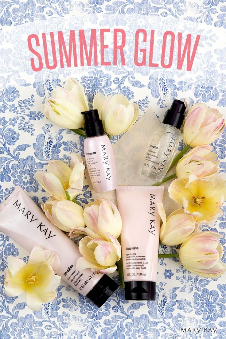When you want that fresh summertime glow, the TimeWise® Miracle Set® is here to help your skin tone look more even. The set of four incredible products delivers 11 age-defying benefits in one skin care regimen: cleanse, exfoliate, freshen, energize, hydrate, smooth, firm, soften, protect, rebuild and reduce the appearance of fine lines and wrinkles. | Mary Kay