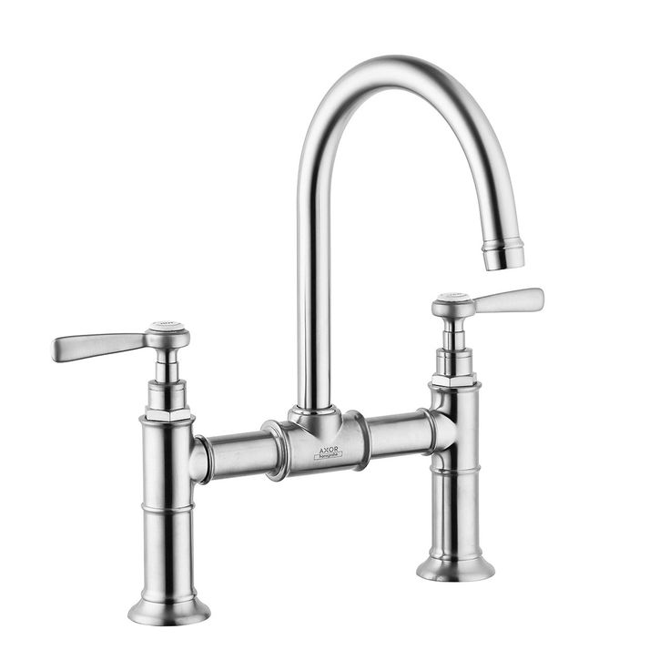 Hansgrohe 16511001 chrome axor montreux bathroom faucet widespread faucet with lever handles
