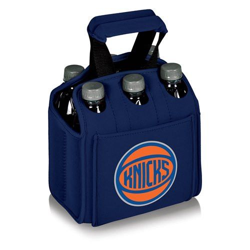 New York Knicks Six Pack Insulated Beverage Carrier w/Digital Print - Navy