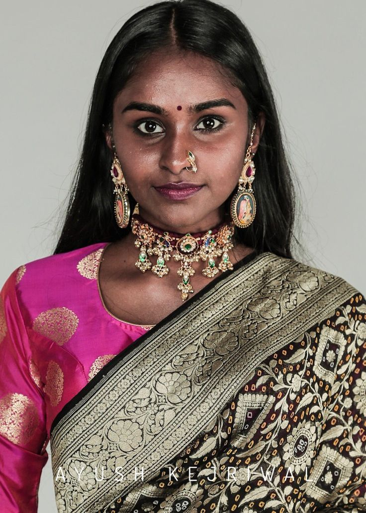 Benarsi Bandhani Saris by Ayush Kejriwal or purchases email me at designerayushkejriwal@hotmail.com or what's app me on 00447840384707 We ship WORLDWIDE. Instagram - designerayushkejriwal