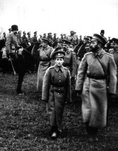 Царь Николай и Царевич на фронте