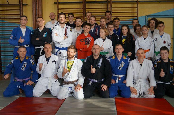 Śrem: Seminarium z Adamem Wardzińskim - jednym z najlepszych zawodników BJJ