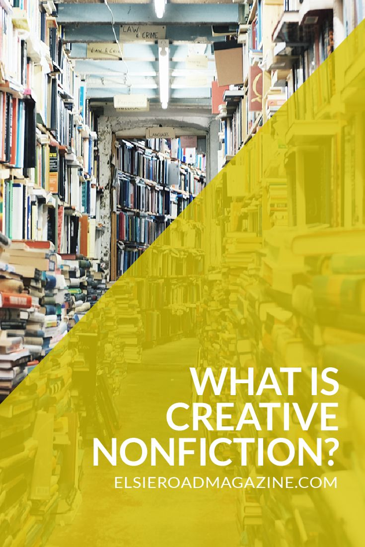 What is Creative Nonfiction? | Memoirs, biographies, literary journalism, personal essays--creative nonfiction spans so many great types of writing. Click through to read a little more about creative nonfiction.
