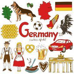 Germany Culture Map - KidsPressMagazine.com
