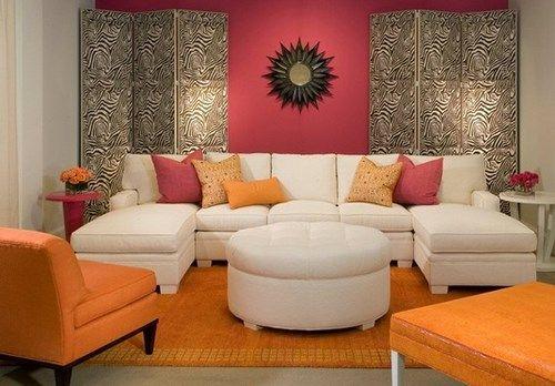 17 mejores ideas sobre cortinas naranja quemado en for Decoracion naranja