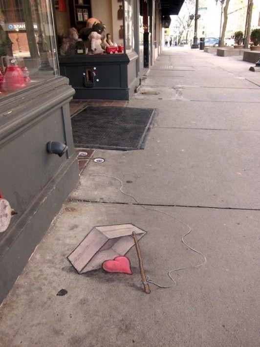 【画像】街の地下で暮らす小さな生き物Sluggo 歩道や壁に描かれたかわいいチョーク・アート | IRORIO(イロリオ) - 海外ニュース・国内ニュースで井戸端会議