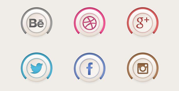 最近気になったソーシャルアイコンセット #7 ここ最近で気になったソーシャルアイコンセットのまとめです。