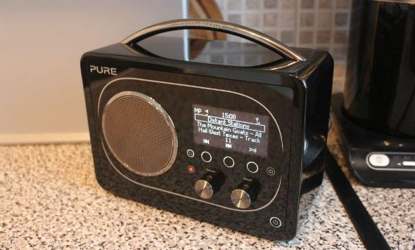 Pure Evoke F4 DAB Radio - first look review
