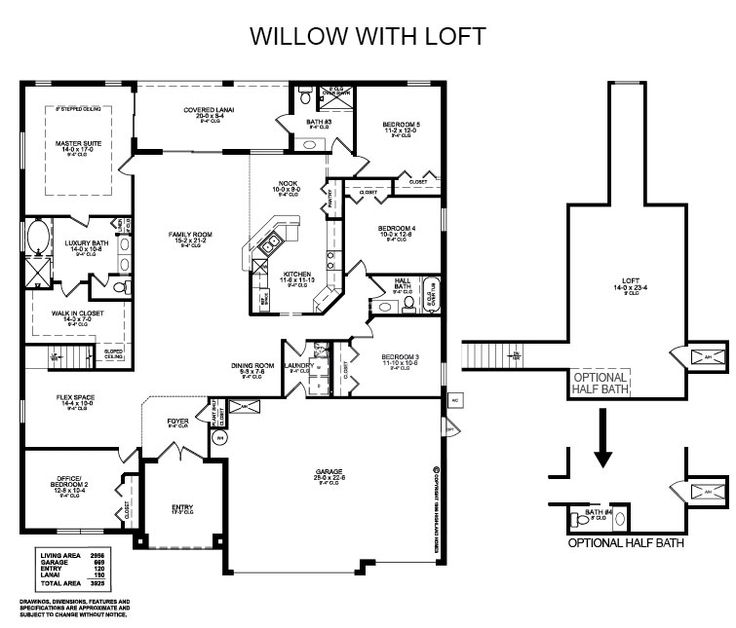 Plan 66342we 3 Bed Beauty With 2 Lanai: 48 Best Images About Highland Homes Plans On Pinterest