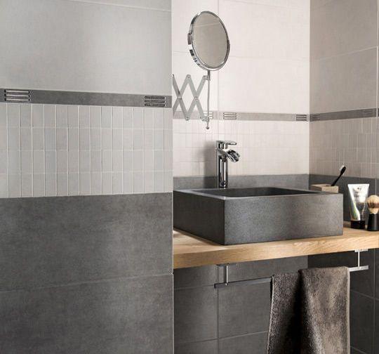 Carrelage salle de bains faience salle de bains les nouveaut s for Idee carrelage salle de bain castorama