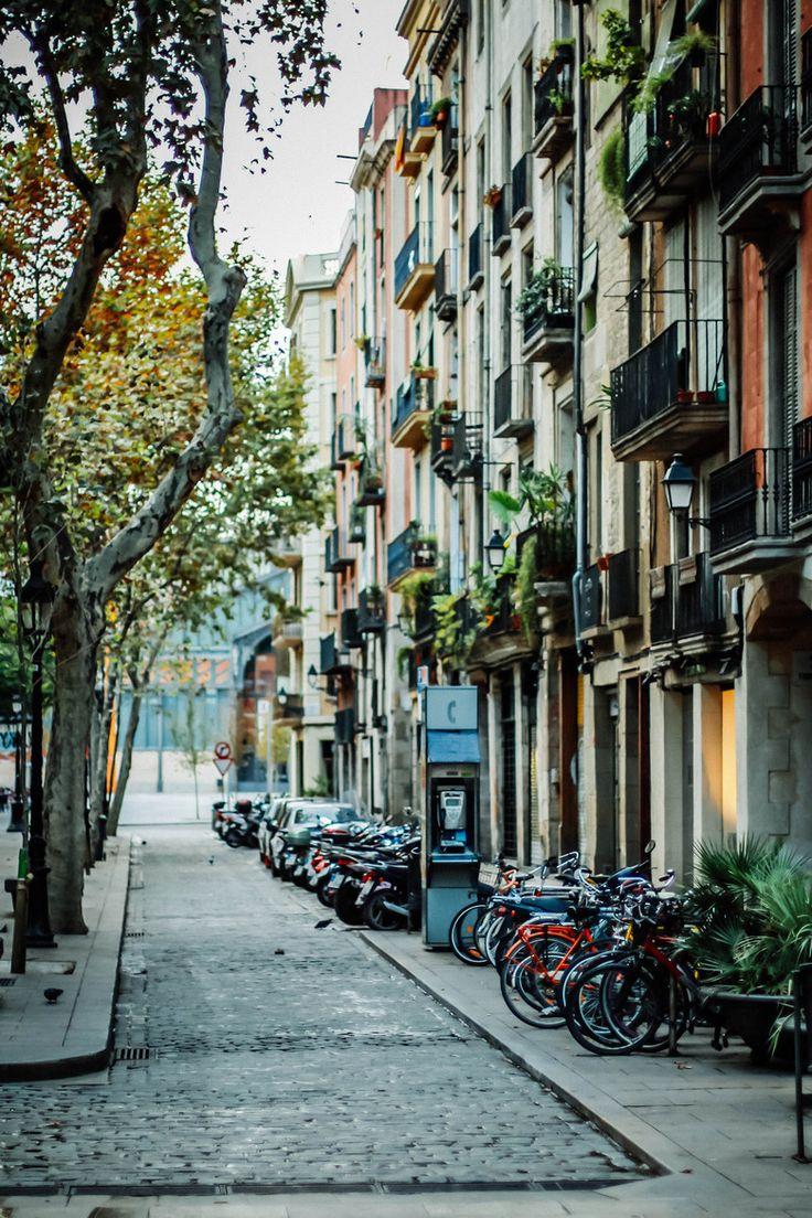 Barcelona, barrio de la ribera