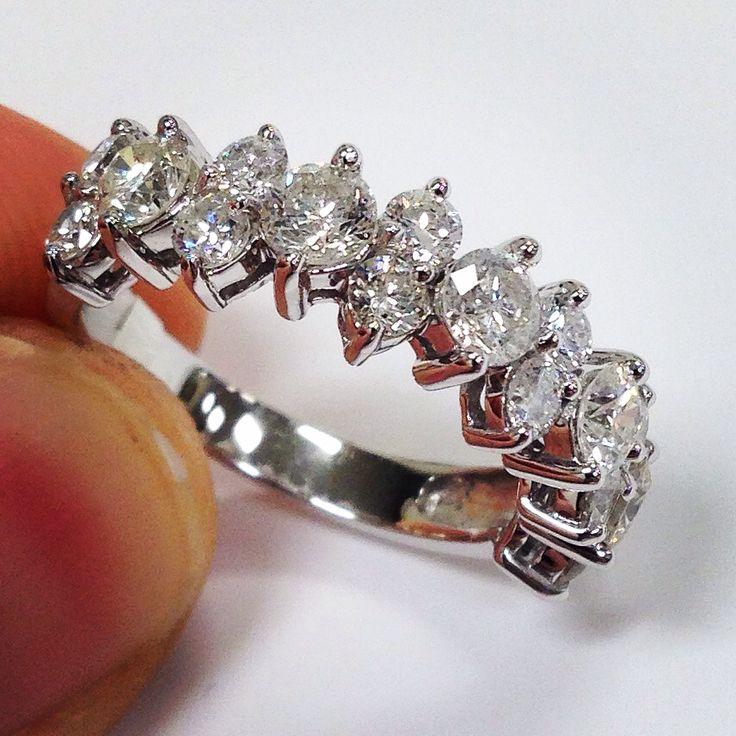 Anniversary diamond ring made by pompeii3