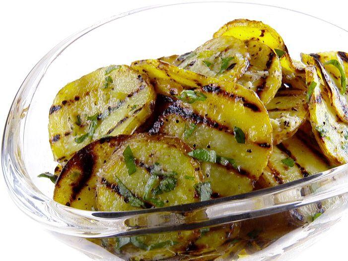 Grilled Potato Salad recipe from Giada De Laurentiis via Food Network