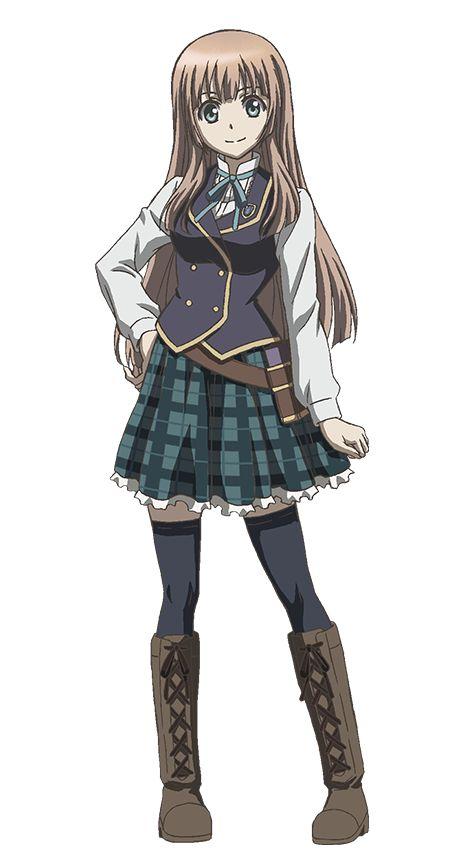 Yoko Hikasa en la voz de Anne.