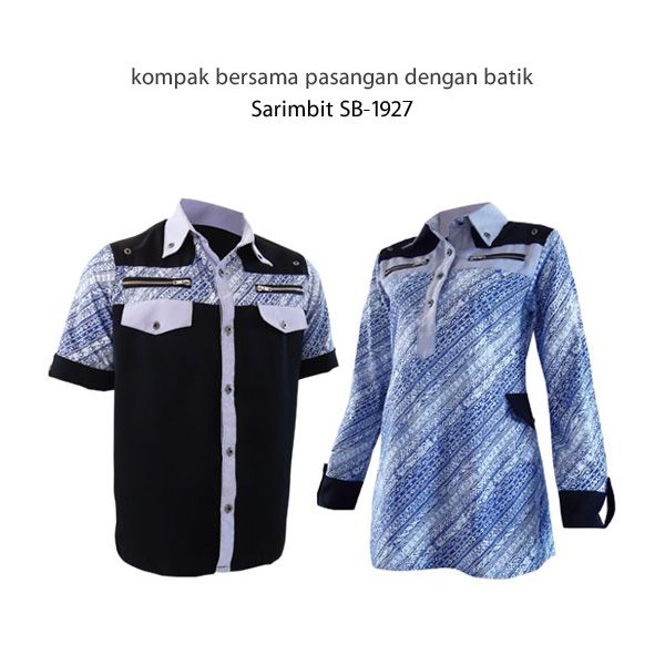 kompak bersama pasangan dengan batik Sarimbit batik SB-1927 #sarimbitbatikmedogh #kemejabatikmedogh http://medogh.com/couple-jaket-sarimbit-batik/couple-sarimbit-batik