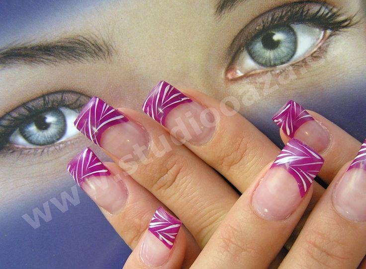 Zdobení nehtů fotogalerie, akrylové a gelové nehty, modeláže nehtů