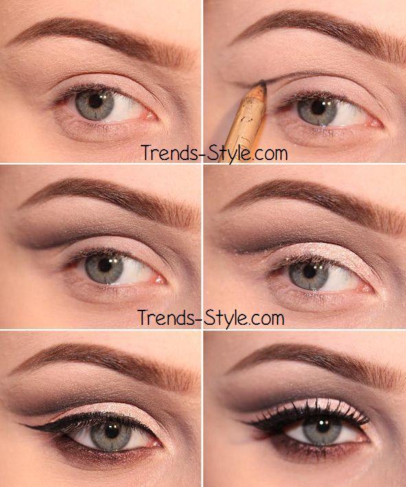 double lidded eye makeup - Google Search