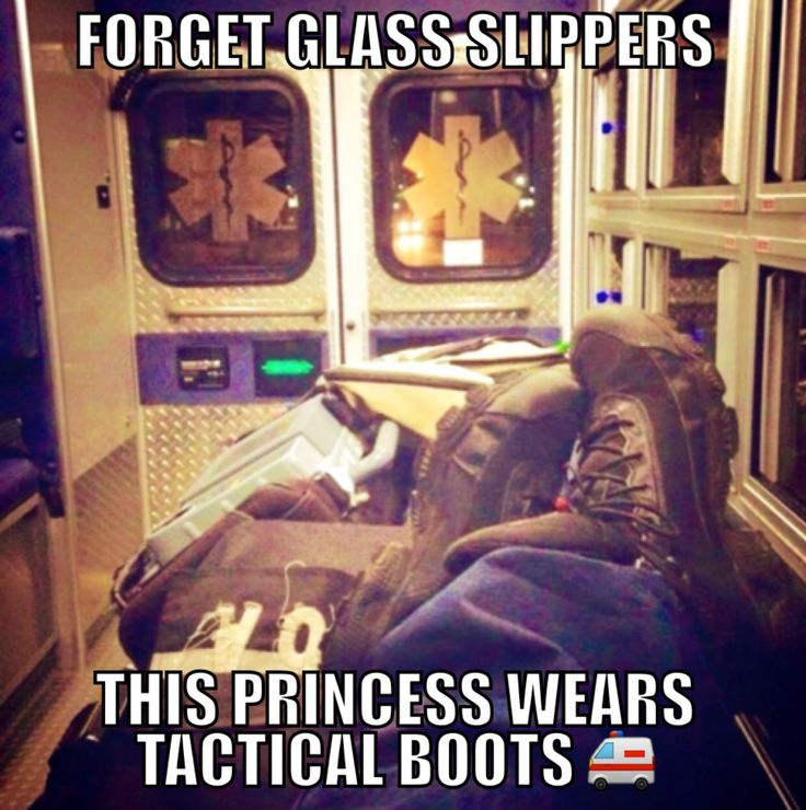 I took this picture in 2014 while on my very first clinical ..after posting the picture on my social media I started seeing it pop up everywhere. The weirdest part of this story is ..I did not create the meme but thank you to whoever did and seems to think I'm a princess    Girls in EMS. EMT Paramedic EMR AEMT EMS #girlsinems
