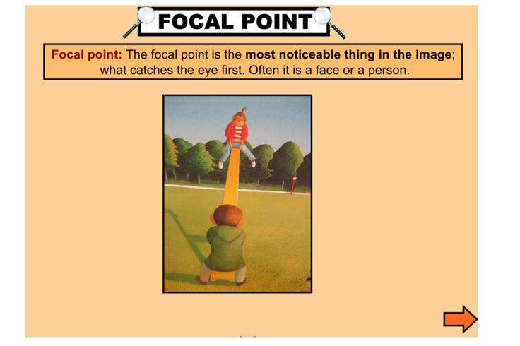 Explicitly explore the elements of visual literacy with this engaging IWB lesson. This lesson focuses on the elements of reading path, focal point, salience and vectors http://interactivelessons.com.au/ http://schools.interactivelessons.com.au/