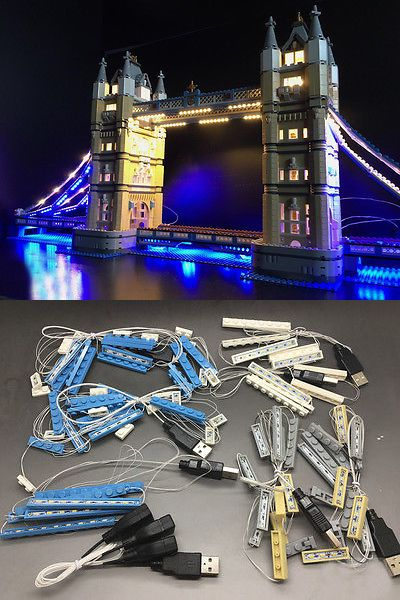 Bricks and Building Pieces 183448: Led Lighting Kit For Lego 10214 Tower Bridge -> BUY IT NOW ONLY: $99.88 on eBay!