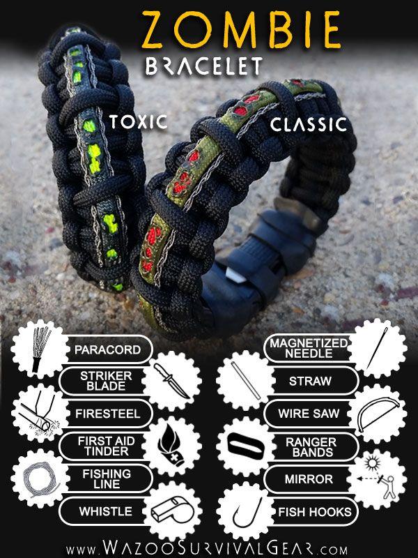 Discrete Survival Braclete Such A Good Idea Self Suficient Pinterest Paracord And Bracelets
