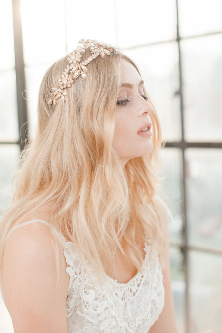 Swoon over jannie baltzer s wild nature bridal headpiece collection - Beautiful Intricate Bridal Headpieces From The Wild Nature Collection By Jannie Baltzer Jannie Baltzer Frankie Crown