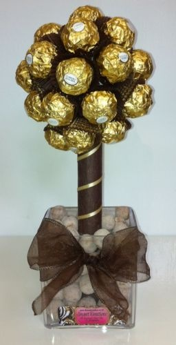 Small Ferrero Rocher Sweet Tree