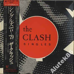The Clash  Singles 77'79  BOX 8X 7 JAPAN OBI