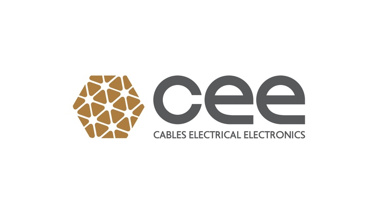 cee_ logo and identity designed for an exporting electrical equipment