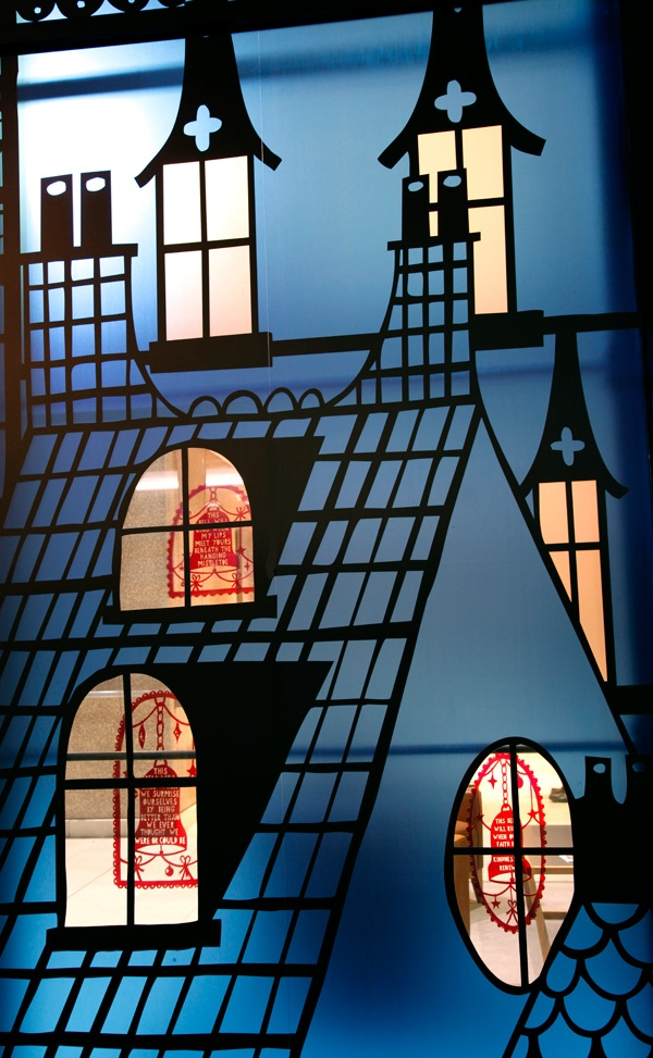 Rob Ryan Christmas window display