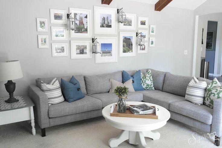 IKEA Sectional Upgrade - Sypsie Designs