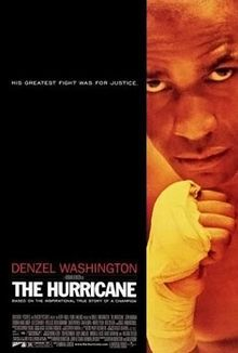 """Norman Jewison directs Denzel Washington in the true story of boxer Rubin """"Hurricane"""" Carter, knocked out by a murder conviction. The story is either freebased or debased when the many forces pursuing Carter are portrayed as a single, solitary man."""