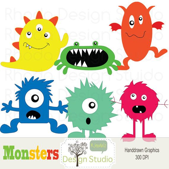 Silly monsters