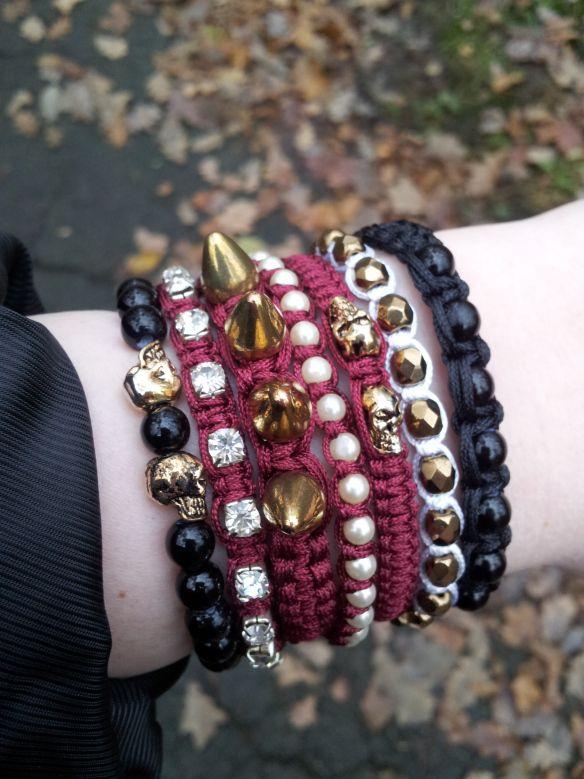 knyta egna armband, enkla makrame armband, göra egna armband, pärlor