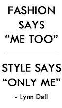 Noir Moda: Fashion Quotes
