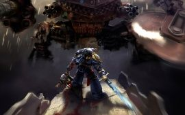 WALLPAPERS HD: Warhammer 40000 Space Marine Ultramarines