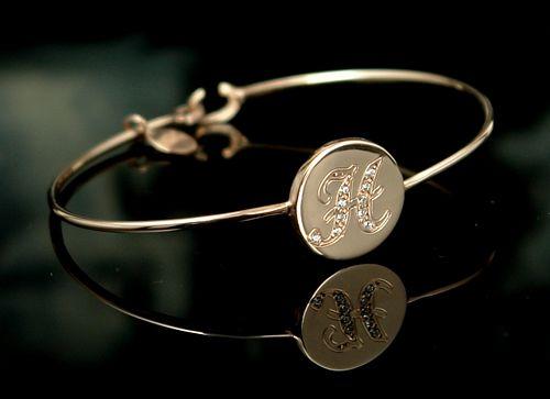 monogram bracelet,initial jewelry,silver bracelets,personalized jewels