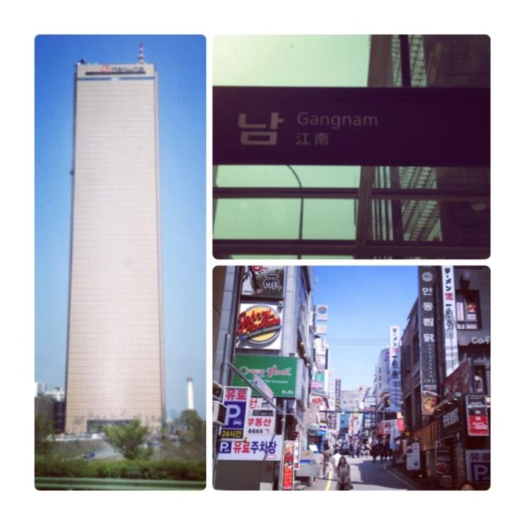 Knör oss in i den Sydkoreanska huvudstaden bland stora byggnader och spännande gator tillsammans med 10 miljoner andra trevliga damer och herrar.  Vårt hotell är (såklart) beläget i området Gangnam!