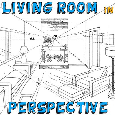 how to draw perspective view