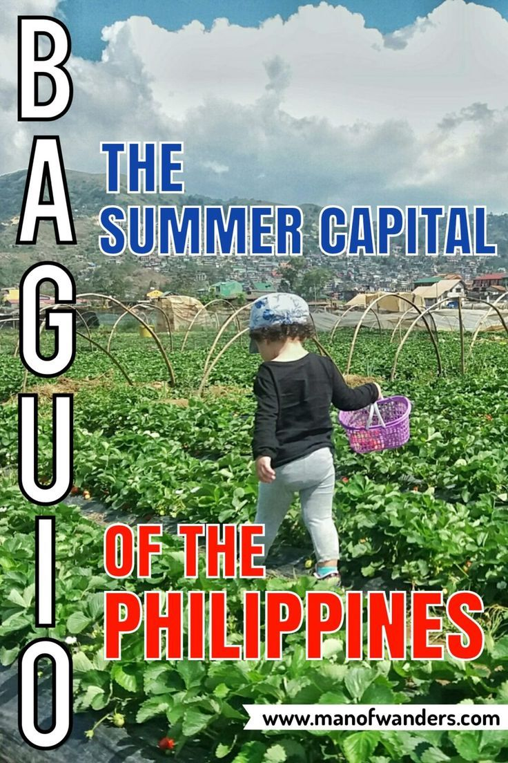 Road trip to Baguio City, the summer capital of the Philippines
