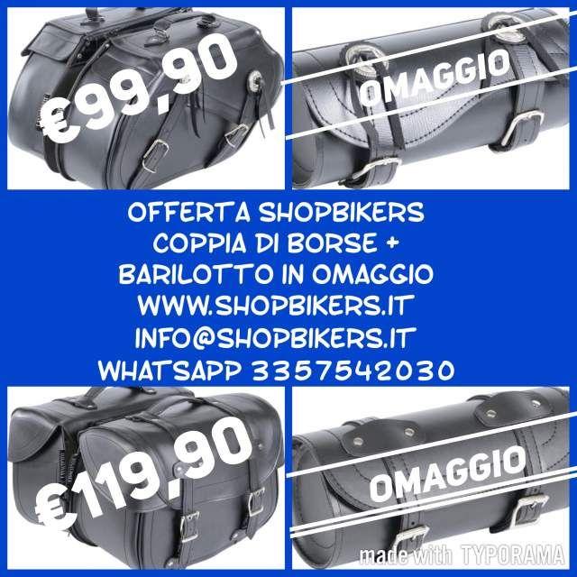 Borse Laterali Moto Barilotto Suzuki Marauder 800 VZ