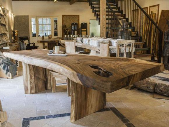 Esstische, Couchtische Und Möbel Aus Massivholz. Beim Tischonkel Finden Sie  Ihren Baumstamm Tisch Und Viele Andere Massivholztische.