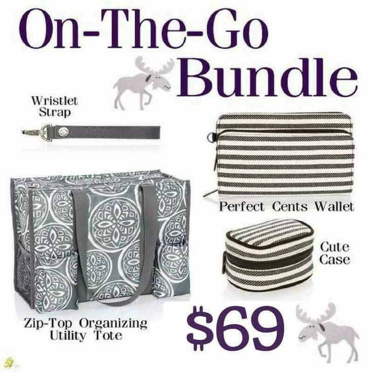 On the Go Bundle is beyond cute !  Love the twill stripes !