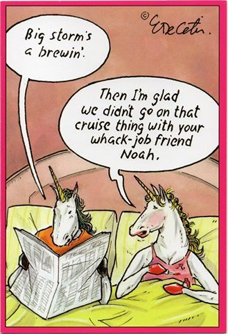 I really wish they would have just got on the darn ark!!