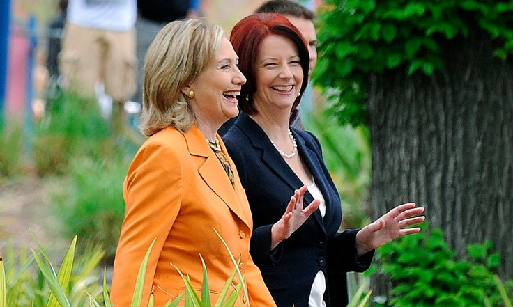 When was the last time you remember a US presidential candidate borrowing the political capital of an Australian prime minister in a campaign ad?